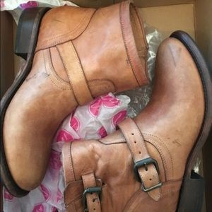 Matisse leather moto boots