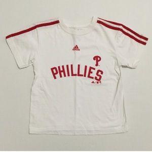 "Adidas Other - [Adidas] kids MLB ""Phillies"" t-shirt szL/7 kids"