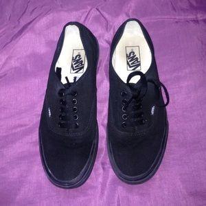 Black vans (girls)