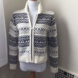 GAP Sweaters - Super Cozy Zip Up Wool Blend Sweater