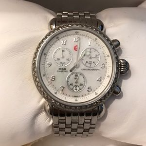 Michele Accessories - Authentic Circle Michelle watch with Diamonds