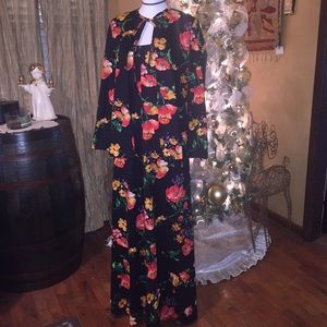 Vintage 70's boho dress