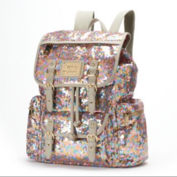 85b48f91b301 Juicy Couture NEW Lux Sequin Backpack Great Gift