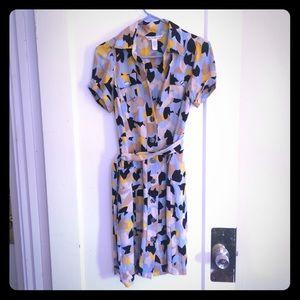 Diane von Furstenberg Dresses & Skirts - Diane Von Furstenberg DVF silk belted dress