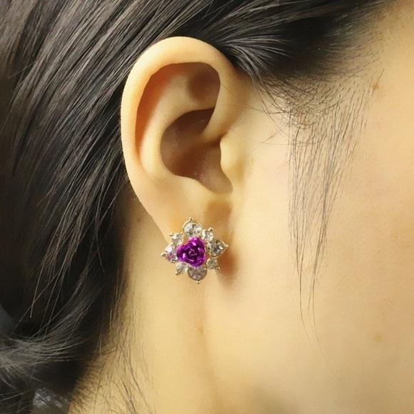 Jewelry - Purple Bloom