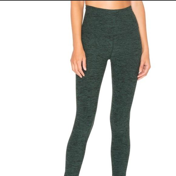 a1c38530c5f47 Beyond Yoga Pants - Beyond yoga high rise green space dye leggings! M!