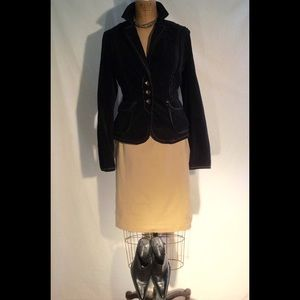 Philosophy di Alberta Ferretti Dresses & Skirts - Philosophy khaki pencil mini skirt-flawed