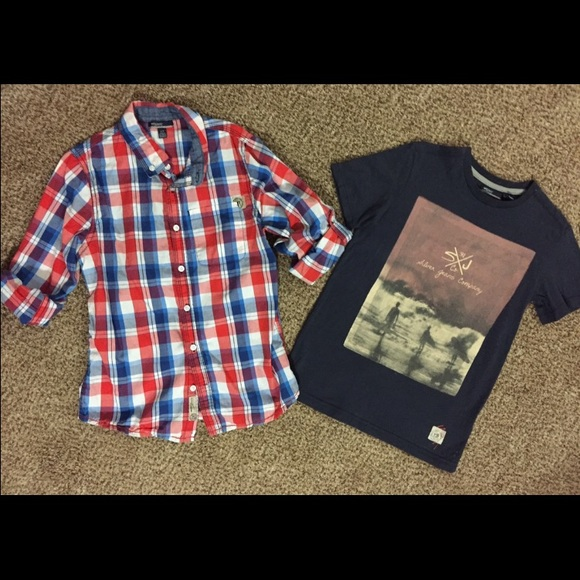 70% off Silver Jeans Other - Boys Silver Shirt Bundle, Like NEW ...