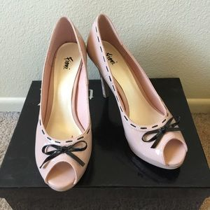 Fioni Shoes - Fioni open toed heels
