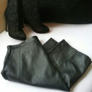 Leather 2000 skirt