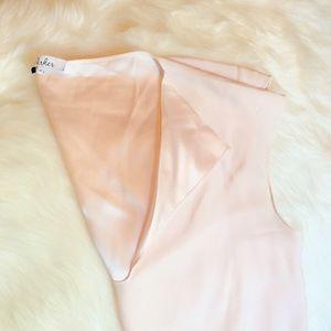 Pink Parker Silk Blouse