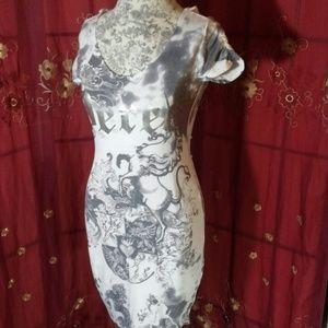 Dereon Dresses & Skirts - Dereon Unicorn Crest Dress