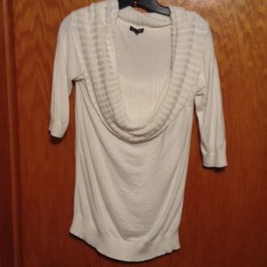 EXPRESS COWL NECK TUNIC SWEATER