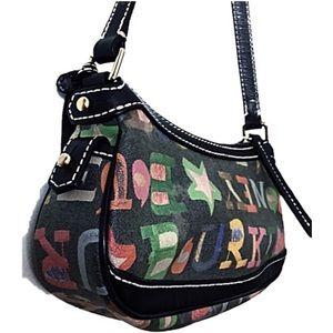 Dooney & Bourke Handbags - Authentic Dooney & Bourke blk bitsy doodle sml bag