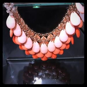 Jewelry - Orange beaded necklace