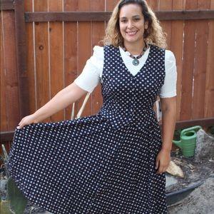 ⬇Vintage NWT 90s Print Dress