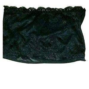 *Black Lace Bandeau* NWOT