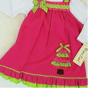 Rare Editions Other - NWT Rare, Too Jumper Dress Set Christmas Holiday
