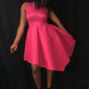 Dresses & Skirts - Sexy sassy fushia pink dress