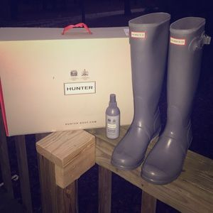 Hunter Rain Boots Size 9 ☔️
