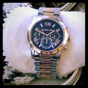 MICHAEL KORS WATCH TWO TONED