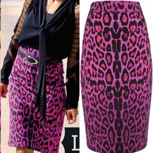 ALICE by Temperley Dresses & Skirts - Alice by Temperley leopard pencil skirt SZ 8
