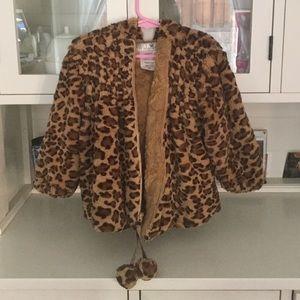Faux fur hooded jacket by Widgeon