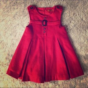 Mayoral Other - ❤️Red Pleated Dress❤️