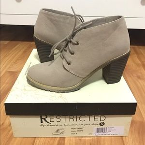 Restricted Shoes - Restricted Penny Bootie