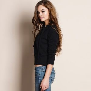 Bare Anthology Tops - Lace Up Sweater Top