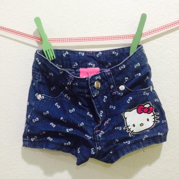 cbc39a4dc Hello Kitty Bottoms | 4t Girl Jeans Short | Poshmark