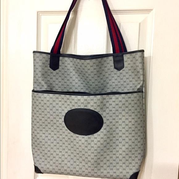 75% off Gucci Handbags - 💖SALE- Gucci Vintage Book bag OPEN TO ...