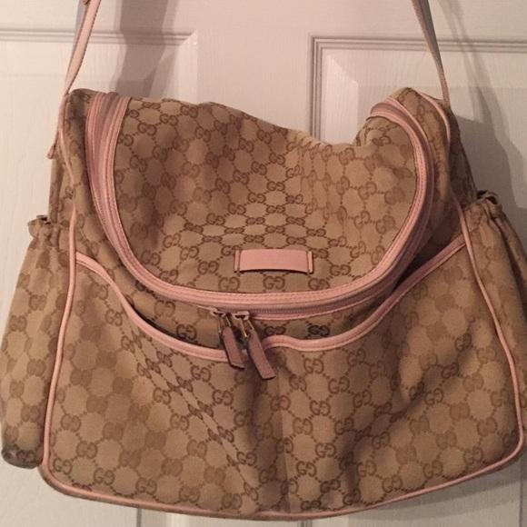 4fbbcfadb44 Gucci Handbags - Authentic Gucci Diaper Bag -messenger style