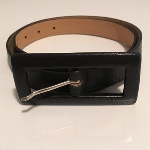 LEATHERROCK Accessories - LEATHEROCK Belt w Long Leather Buckle NWOT