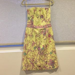 Beautiful yellow Plenty by Tracy Reese dress