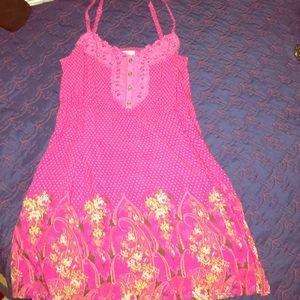 Free People Printed Sun Dress