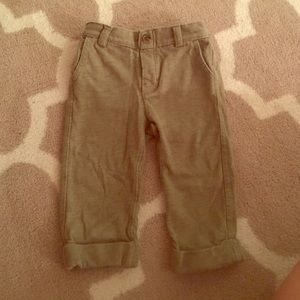 GAP Other - Baby gap olive loose pants for boys or girls