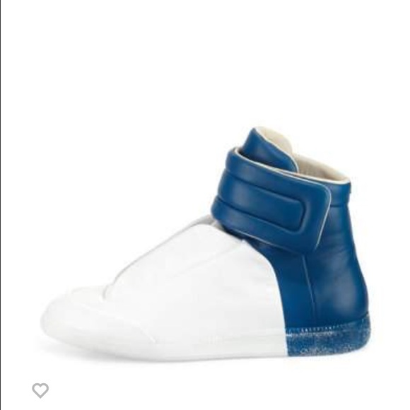 White Leather Sock High-Top Sneakers Maison Martin Margiela For Cheap Discount Outlet Best Prices Cheap Authentic Outlet With Paypal Online BDNUYjSqBE