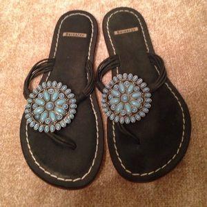 Bernardo Shoes - Bernardo black sandals - 9M