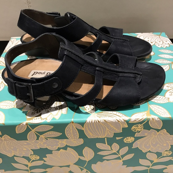 88 off paul green shoes sale paul green everyday black sandals from amz 39 s closet on poshmark. Black Bedroom Furniture Sets. Home Design Ideas