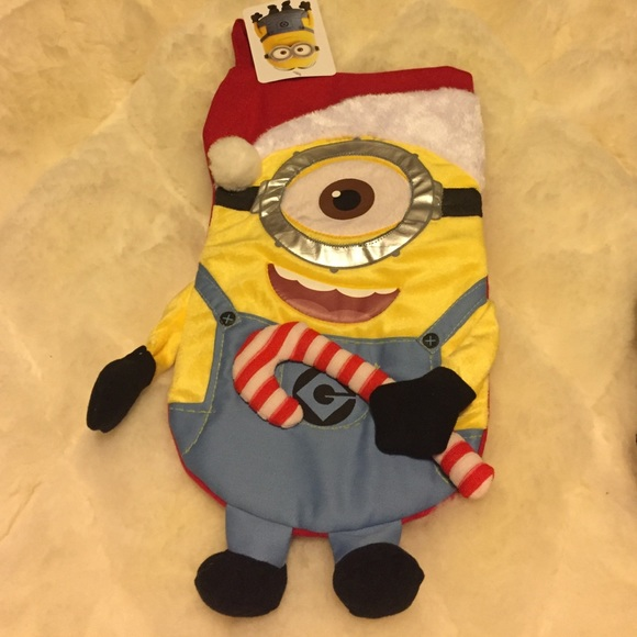 despicable me minion christmas stocking - Minion Christmas Stocking