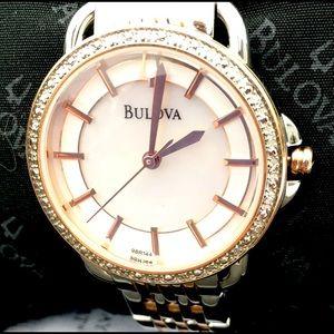Bulova Accessories - 🔥🆕💎Bulova diamond rosetone watch