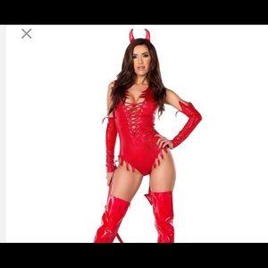 ❤️❤️❤️Sexy Devil adult costume❤️❤️❤️