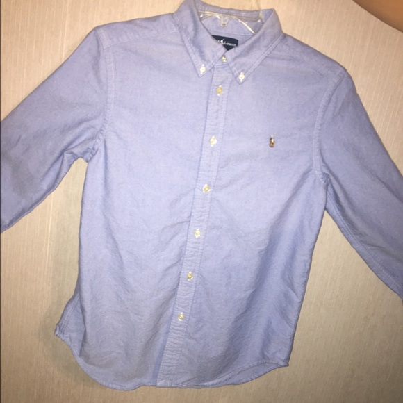 14-16 NWT POLO RALPH LAUREN YOUTH BOY/'S BUTTON DOWN SHIRTS L