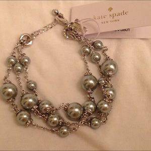 Kate Spade Pearls of Wisdom Bracelet