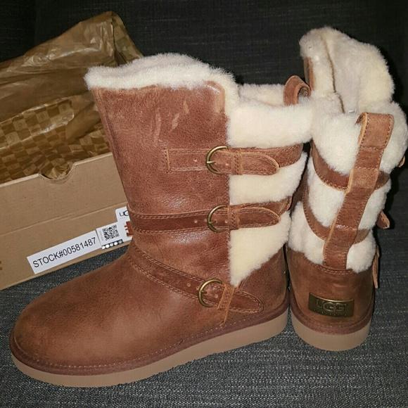 UGG Australia Womens Becket Chestnut Winter Boot f5aac35e2d06