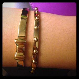 Kate Spade Gold Bracelets