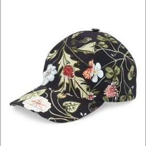 Gucci Flora Baseball Hat