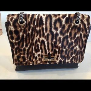 Lanvin Handbags - Lanvin Leopard Print Calf Hair Bag