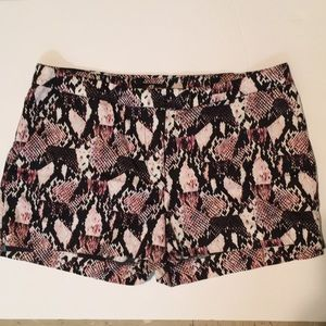 H&M Pants - Snake Print Shorts